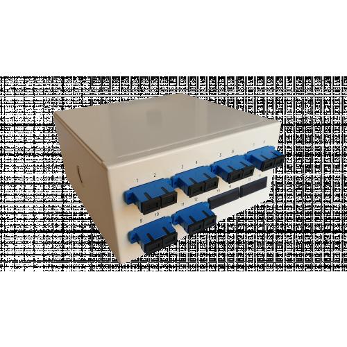 Singlemode - 6 x SC Duplex 12 Way Fibre Wall Mount Breakout Box (Each)