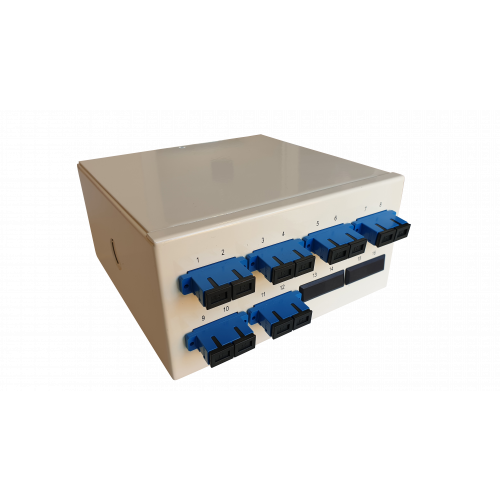 CMW Ltd  | Singlemode - 6 x SC Duplex 12 Way Fibre Wall Mount Breakout Box