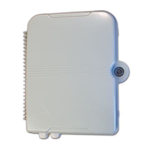 W31 Indoor/Outdoor Lockable IP65 Fibre Wall Box