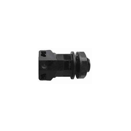 CMW Ltd  | 12mm PP One Piece Black Gland/Locknut