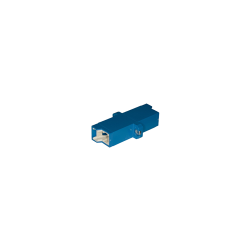 E2000 Single Mode Blue/Blue Adaptor (Each)