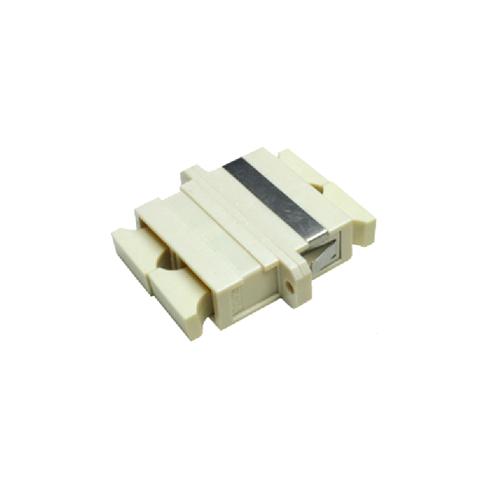 CMW Ltd  | Multimode SC Simplex Fibre Adapters Beige