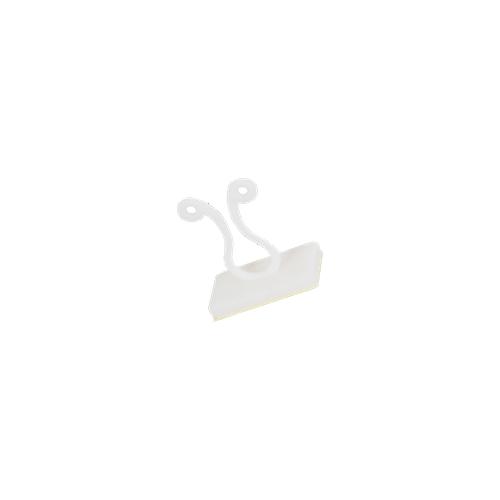 CMW Ltd  | Kurly Lock Clips - (Bunny Clip with Sticky Pad)