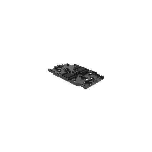 Splice Tray Incl. Heat Shrink Splice Holders & Lid (Each)