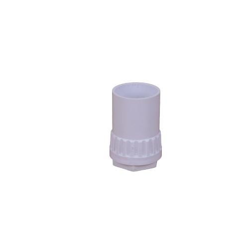Dietzel Univolt Plastic Conduit Fittings AFT/MBS20W   20mm White Female Adaptors