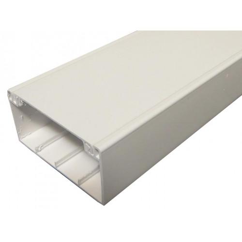 CMW Ltd, Plastic Cable Trunking MCT100 | Algar 100 x 50mm Dado Trunking, 3m length