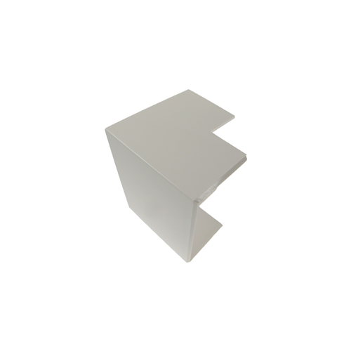 Algar PVC White Dado - Skirting  External Angle (Each)