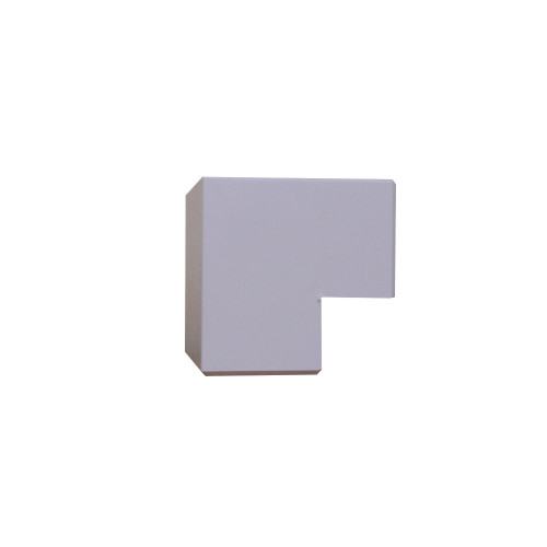 Falcon MCT100/EA | Algar PVC White Dado - Skirting  External Angle