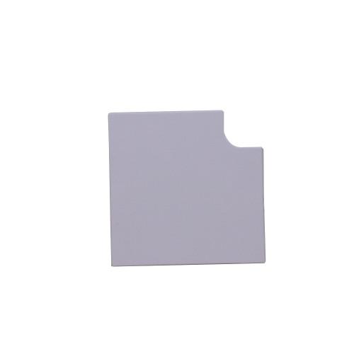 algar MCT100/FA | Algar PVC White Dado Skirting trunking, 100mm x 50mm, Flat Angle