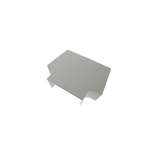 CMW Ltd, Plastic Cable Trunking  | Algar 100 X 50mm White Dado Trunking, Flat Tee