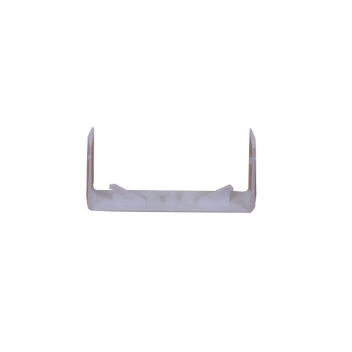 CMW Ltd, Plastic Cable trunking MCT100/SC | Algar 100mm x 50mm White Dado Trunking, Joint Cover / Coupler