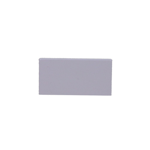 MCT100/SE  | Algar 100mm x 50mm White Dado Trunking, Stop End Cap