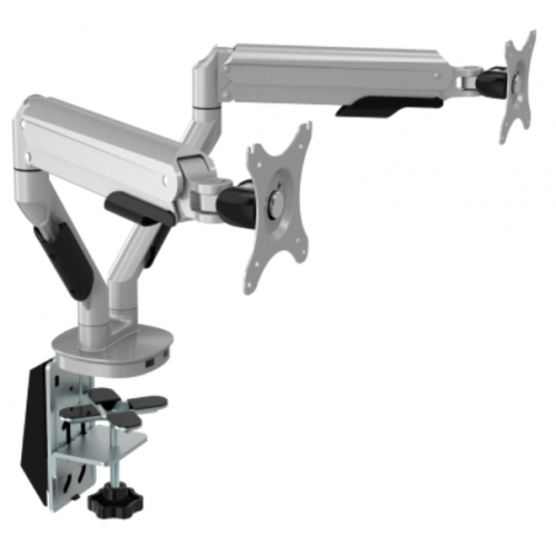 Gas Double Monitor Arm with USB (Each)