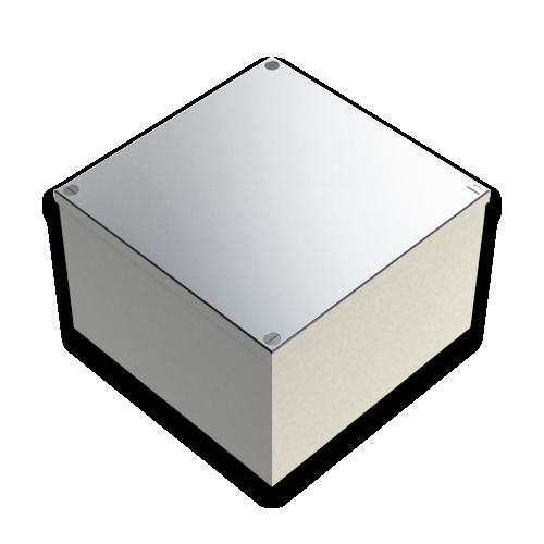 CMW Ltd  | Galvanised Box 150mm x 150mm x 100mm - No Knockouts
