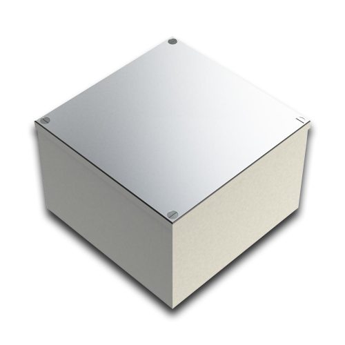 CMW Ltd    Galvanised Box 150mm x 150mm x 100mm - No Knockouts