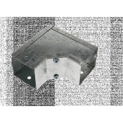 CMW Ltd, Algar, Galvanised Cable Trunking    100 x 50mm Galvanised Trunking Internal Bend