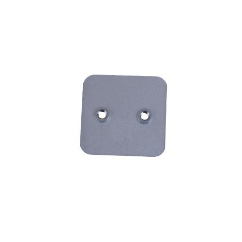 CMW Ltd, Algar, Galvanised Cable Trunking  | 50 x 50mm Galvanised Trunking Internal Couplers (Per pair)