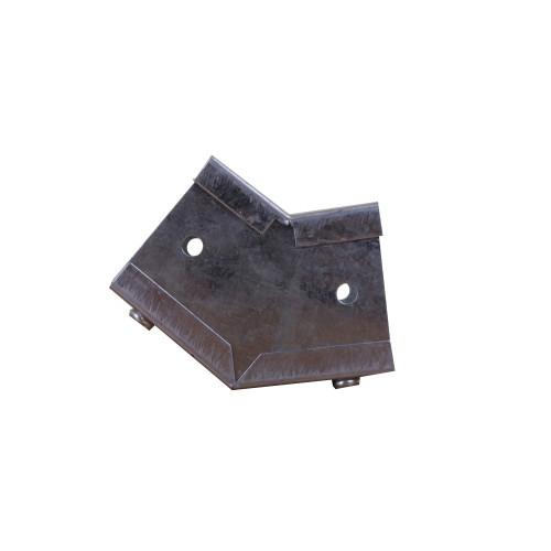 CMW Ltd, Algar, Galvanised Cable Trunking  | 50 x 50mm Galvanised Trunking External 45 Degree Bend