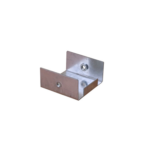 CMW Ltd, Algar, Galvanised Cable Trunking SA22SE | 50 x 50mm Galvanised Trunking Stop End