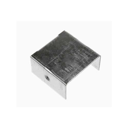 CMW Ltd, Algar, Galvanised Cable Trunking SA44SE | 100 x 100mm Galvanised Trunking Stop End