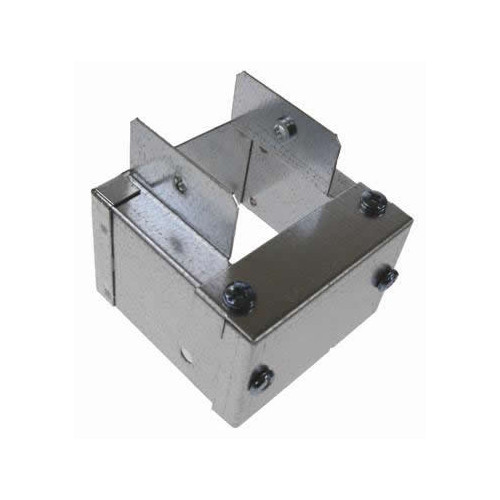 100 x 100mm to 50 x 50mm Galvanised Trunking Reducer (Each)