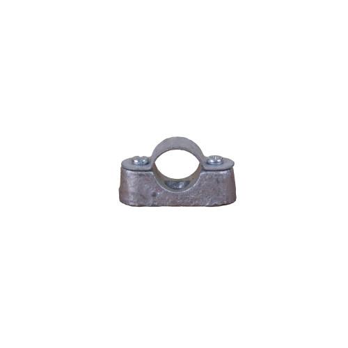 CMW Ltd, Rigid Galvanised Conduit Tube Fittings, Metpro DS1G | 20mm Hot Dipped Galvanized Distance Saddle Class 4