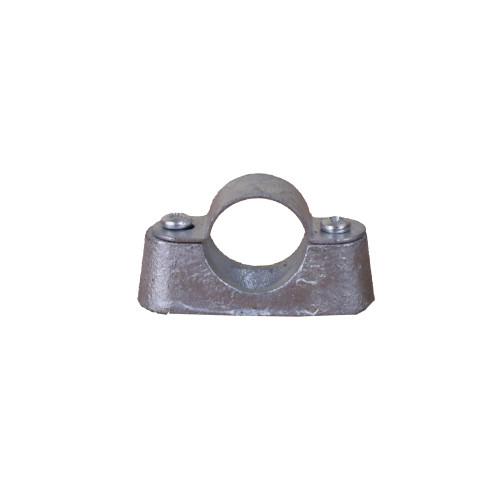 CMW Ltd, Rigid Galvanised Conduit Tube Fittings, Metpro DS2G | 25mm Hot Dipped Galvanized Distance Saddle Class 4