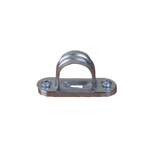 CMW Ltd galvanised rigid cable conduit tube fittings SBS25G | 25mm BZP Spacer Bar Saddle Clip