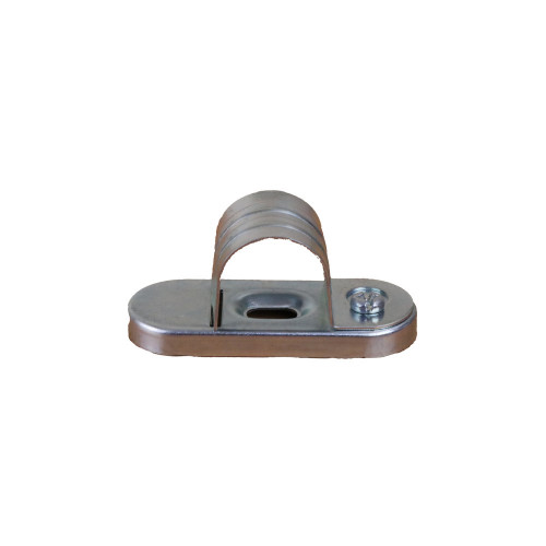 CMW Ltd Galvanised Steel Conduit SBS20G   20mm Rapid Fitting  Saddle Clip,  for faster conduit installation time