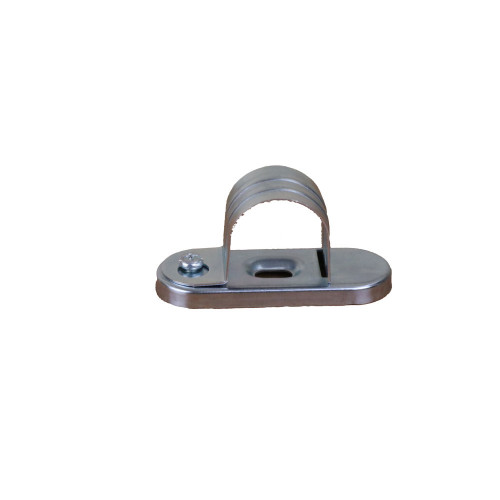 CMW Ltd Galvanised Steel Conduit SBS25G | 25mm Rapid Fitting  Saddle Clip,  for faster conduit installation time