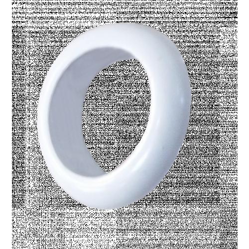 CMW Ltd    20mm Open Grommets White (Box / 100)