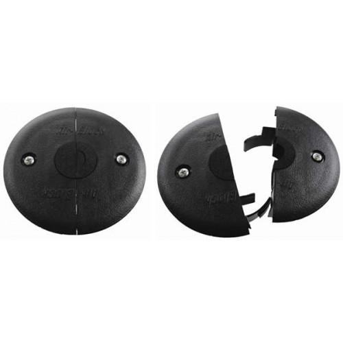 Black Mini Air-Block Grommet 89mm cut-out (Each)