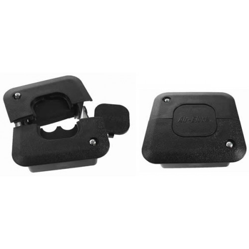 Black Air-Block Cable Grommet (Each)