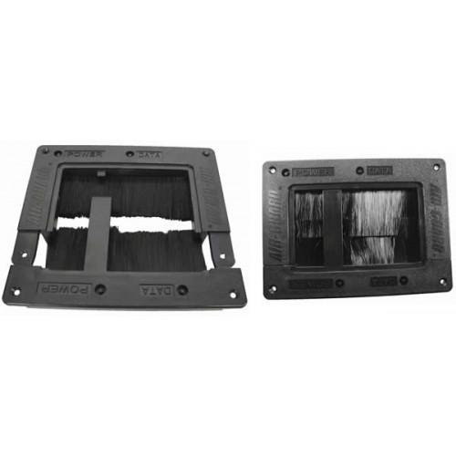 CMW Ltd, Floor Cable Grommets    Airguard 2 Part Floor Grommet