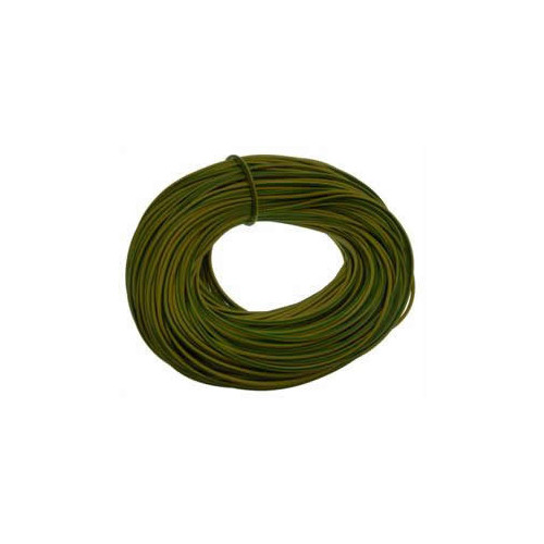 3mm Green / Yellow Earth Sleeve (100 Metre)