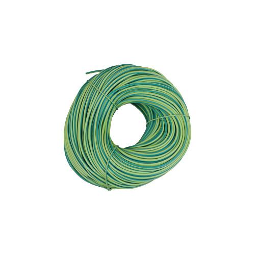 3mm Green / Yellow Earth Sleeve (100 Metre)