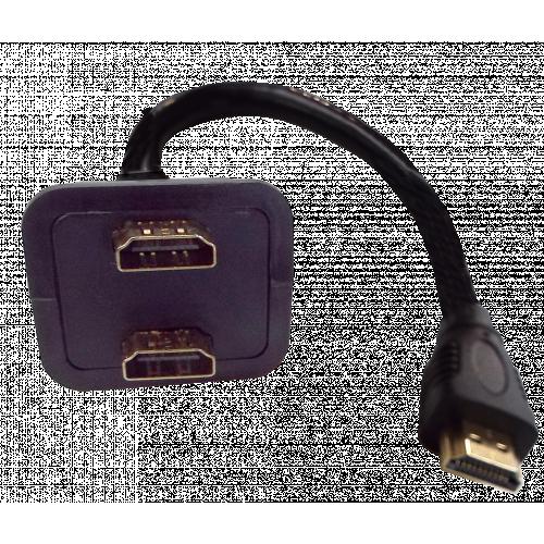 CMW Ltd  | HDMI Male to 2 x Female Splitter Adaptor