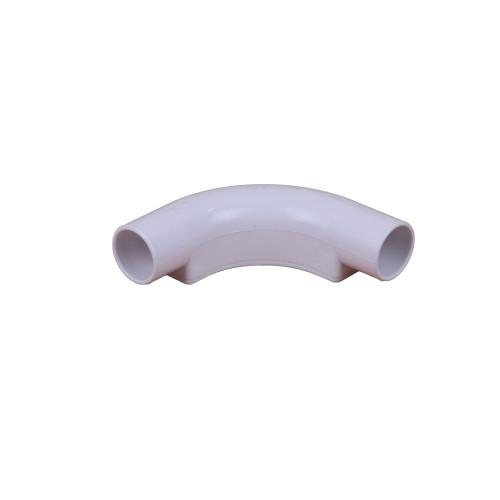 Dietzel Univolt Plastic Conduit Fittings IB20WH | 20mm White Inspection Bend