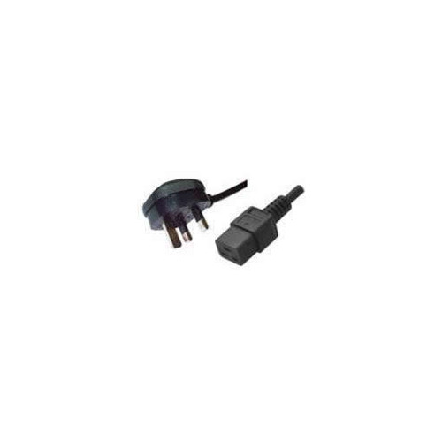CMW Ltd  | 2.5m UK Plug to C19 IEC Female Lead