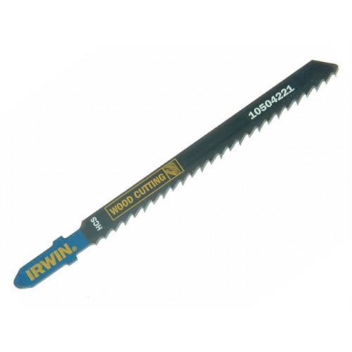 Irwin Tools 10504219 | 100mm ( T101B ) Wood Jigsaw Blades (Pack /5)