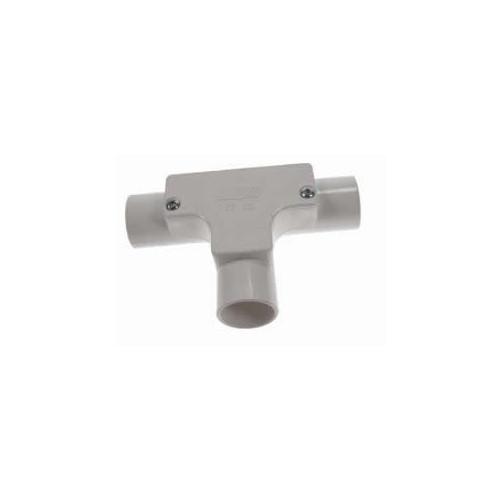 Dietzel Univolt 20mm White PVC Rigid Conduit Inspection Tee (Each)