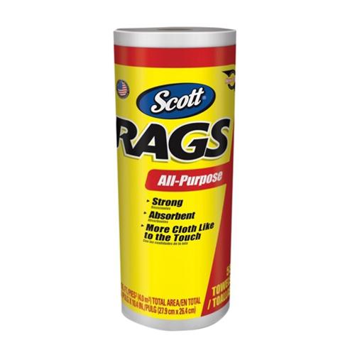 CMW Ltd 75230 | Rags on a Roll-White