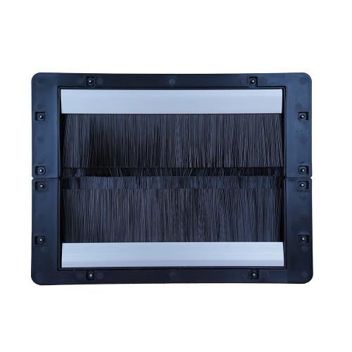 KoldLok® 2000-2030 2030 Surface L Raised Floor Grommet 305mm W x 298mm D x 33mm H