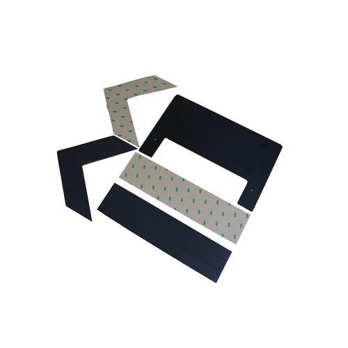 KoldLok® 2000-2040 2040 Surface XL Raised Floor Grommet 305mm W x 381mm D x 33mm H