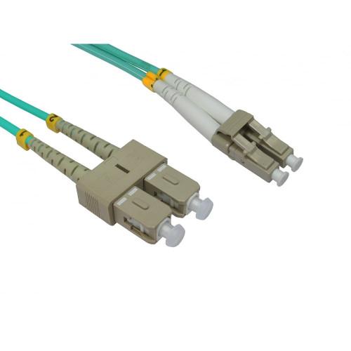LC - SC Duplex Fibre Leads