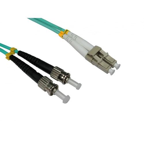 LC - ST Duplex Fibre Leads