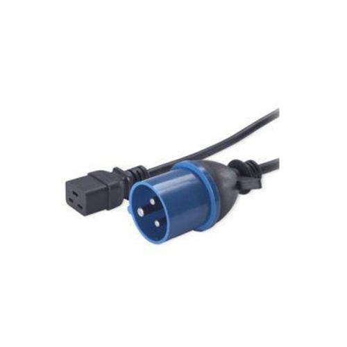 IEC 320 C19 socket-IEC 309 32A commando plug- 5m lead