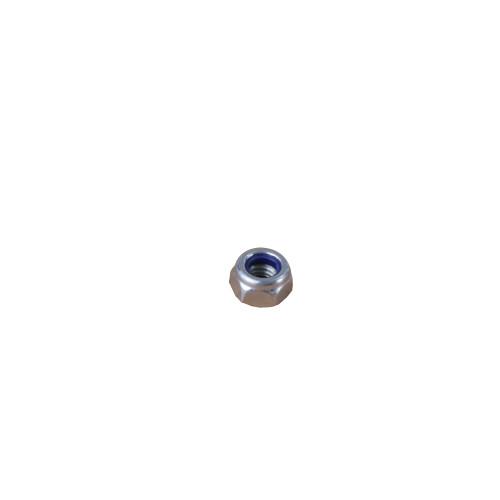 Owlett Jaton  NUTNM06 | M6 BZP Nuts with Nylon Insert (Box/100)