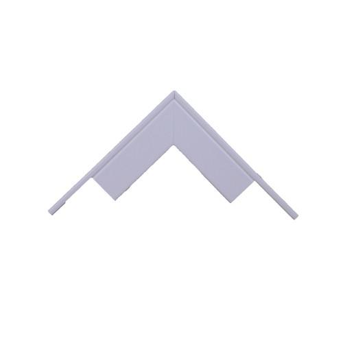 Univolt MAE50/100 | Dietzel Univolt 100 x 50mm PVC Maxi Trunking Fitting White Fabricated External Angle