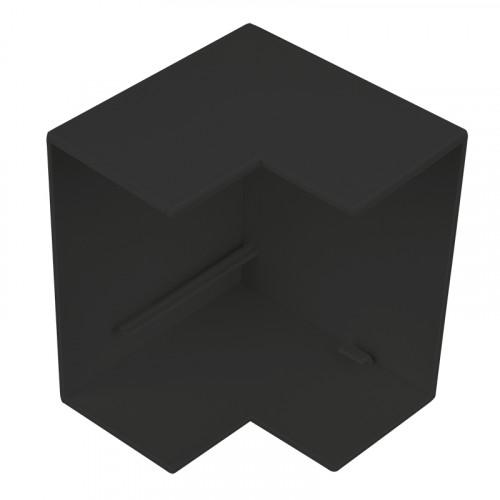 CMW Ltd  | Black Clip-on 100 x 50 External Angle